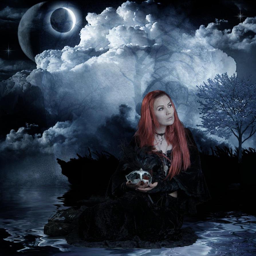 Gothic Girl Tutorial by Ka-Kind