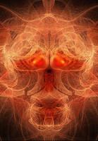 skull fraktal by Ka-Kind