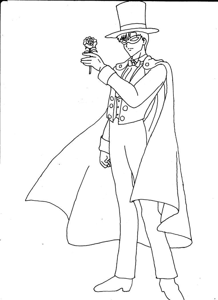 tuxedo mask 001 by ka