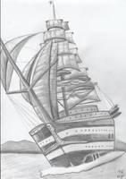 sailing boat by Ka-Kind