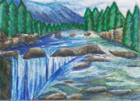 Wasserfall by Ka-Kind