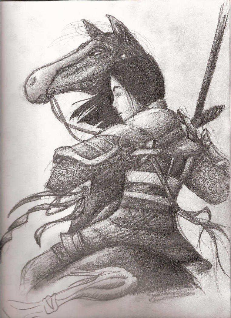 Mulan by EDBunny