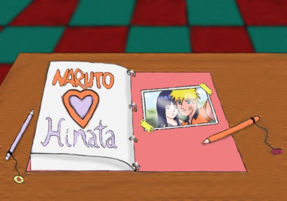 Naruto Hinata - Our Notebook