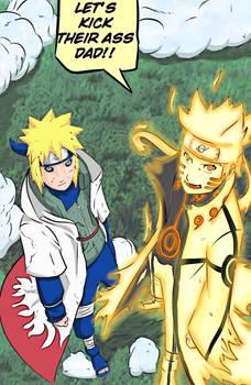 Naruto Minato - Kick Ass