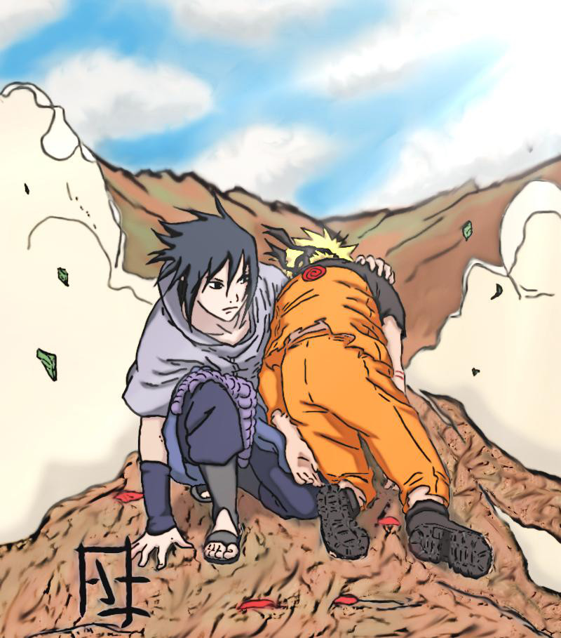 Naruto Sasuke - Don't you dare to give up, dobe! by SupremeDarkQueen