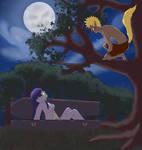 Naruto Hinata - Creatures of the Night by SupremeDarkQueen