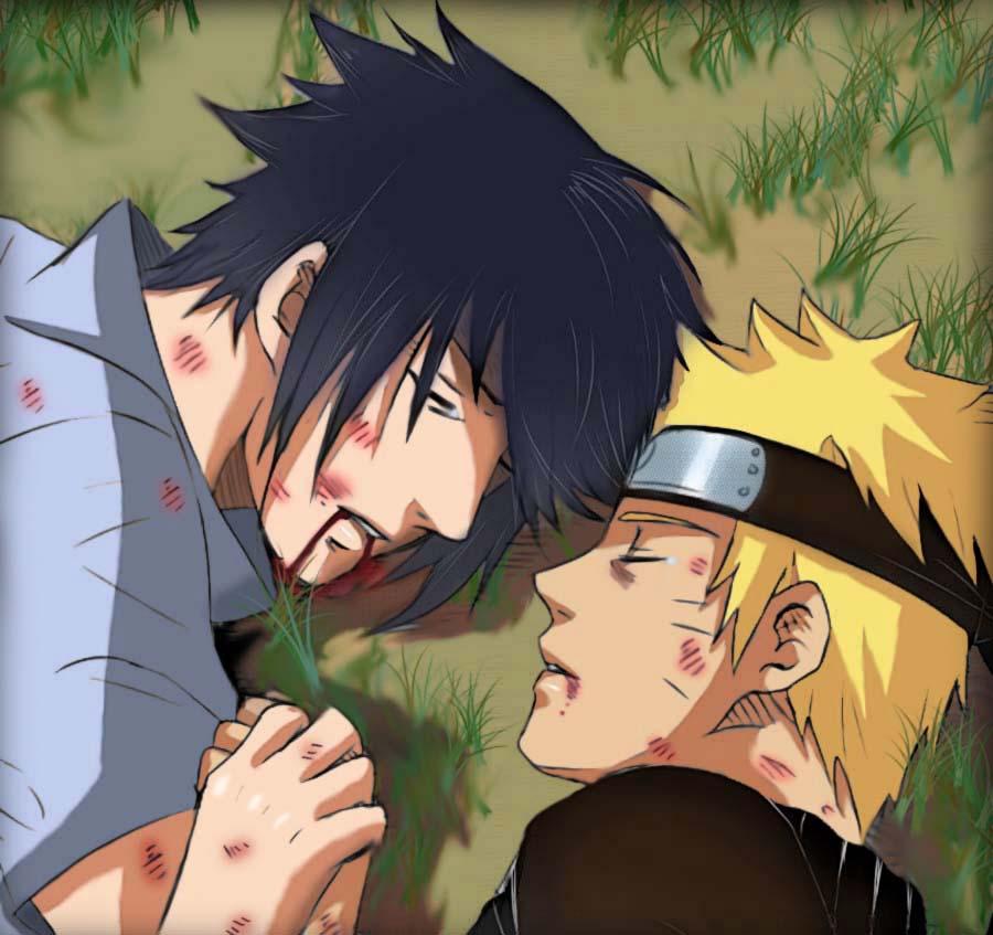 Naruto Sasuke - In Life and Death by SupremeDarkQueen