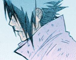 Sasuke - Gloomy by SupremeDarkQueen