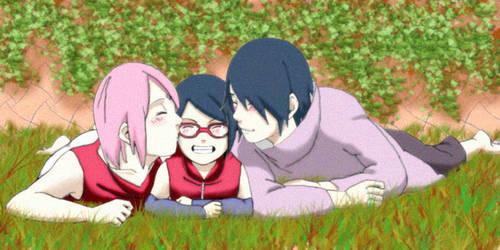 Uchiha Family - Happy Day