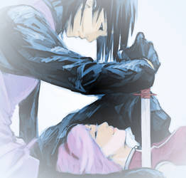 Sasuke Sakura - Like a Sword by SupremeDarkQueen