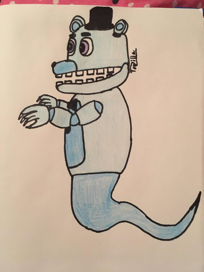 Ghost Freddy by TorZilla
