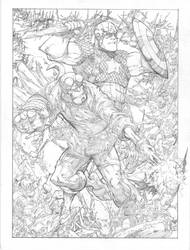 Cap-Hellboy by PScherberger