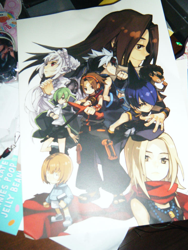 Shaman King Anime Poster By LordChao101