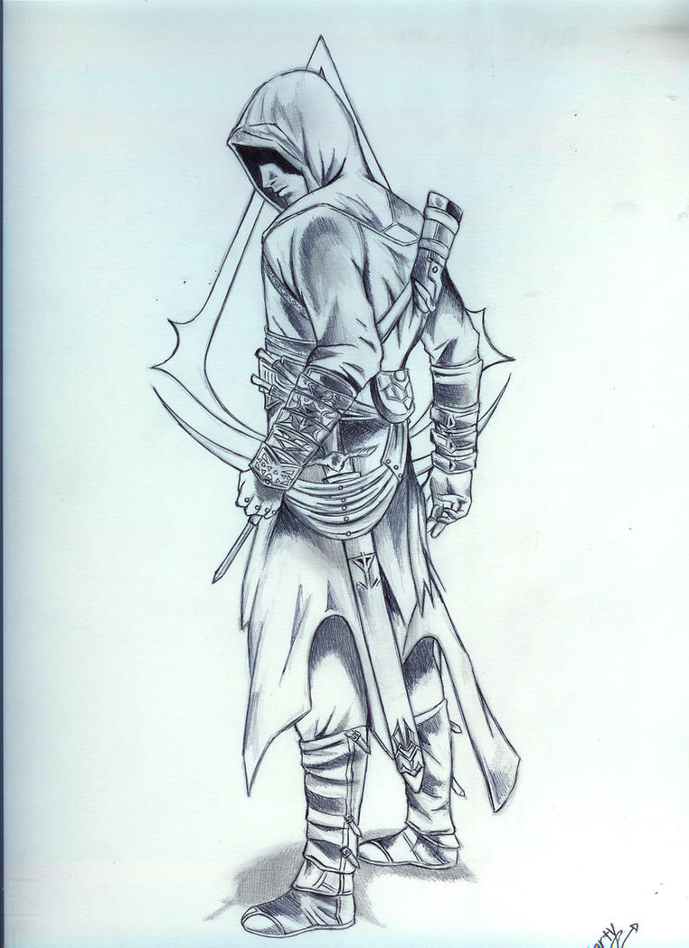 how to draw an assassin from assassin& 39