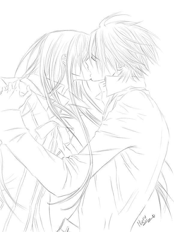 yuki zero kiss by MartyIsi on DeviantArt