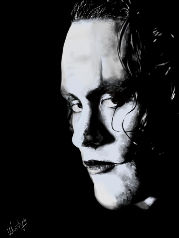 The Crow - Brandon Lee by MartyIsi