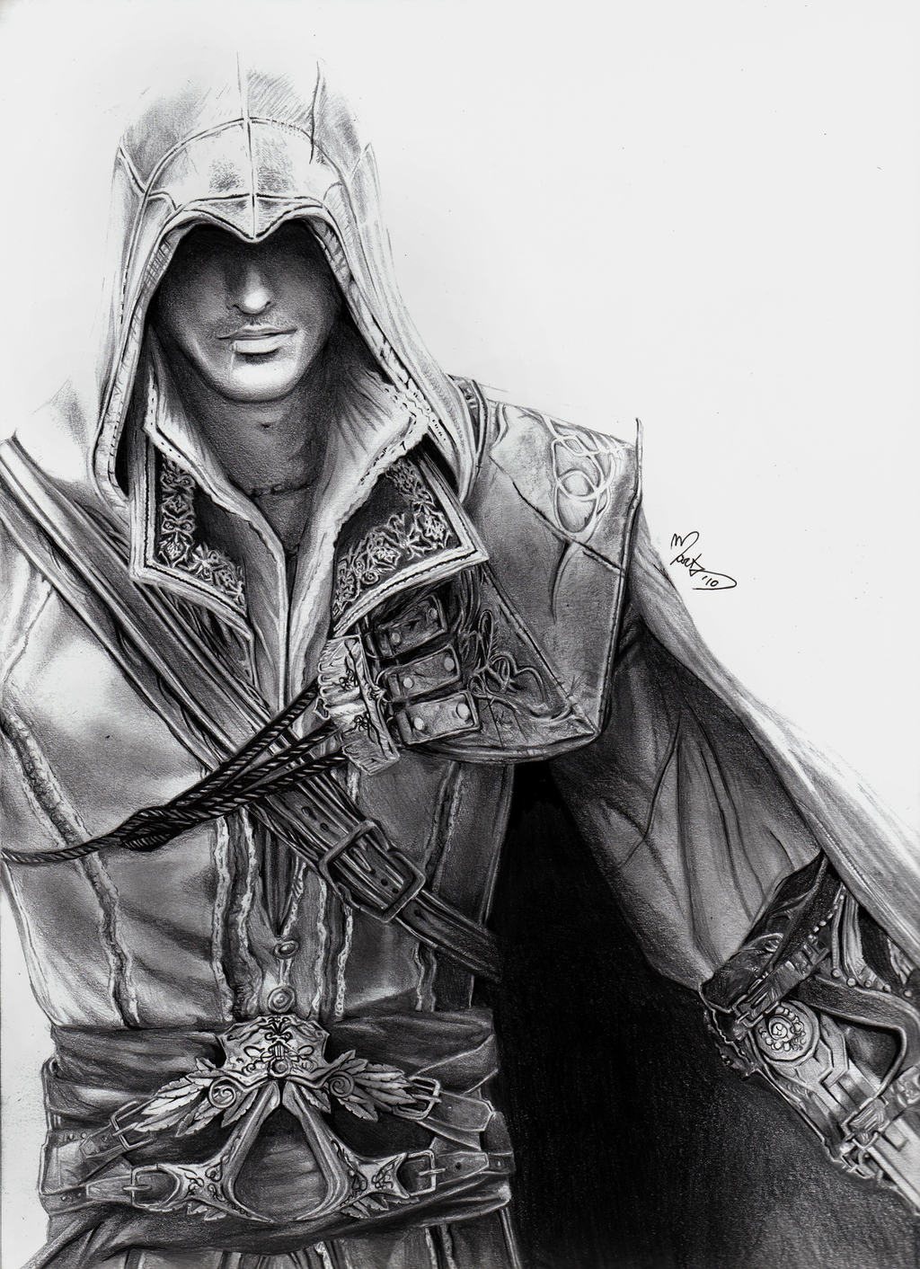 Assassin's Creed - Ezio by MartyIsi
