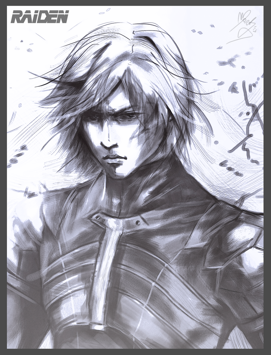 Raiden MGS2 by MartyIsi