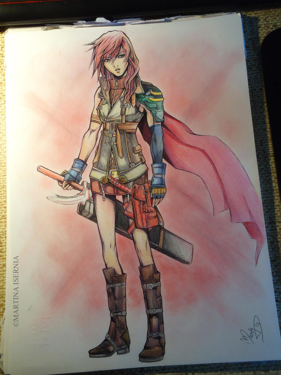 Lightning colored version by MartyIsi