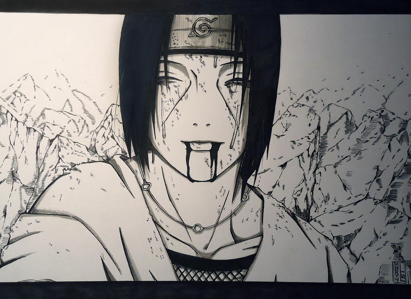 ~Itachi's death~ by MartyIsi