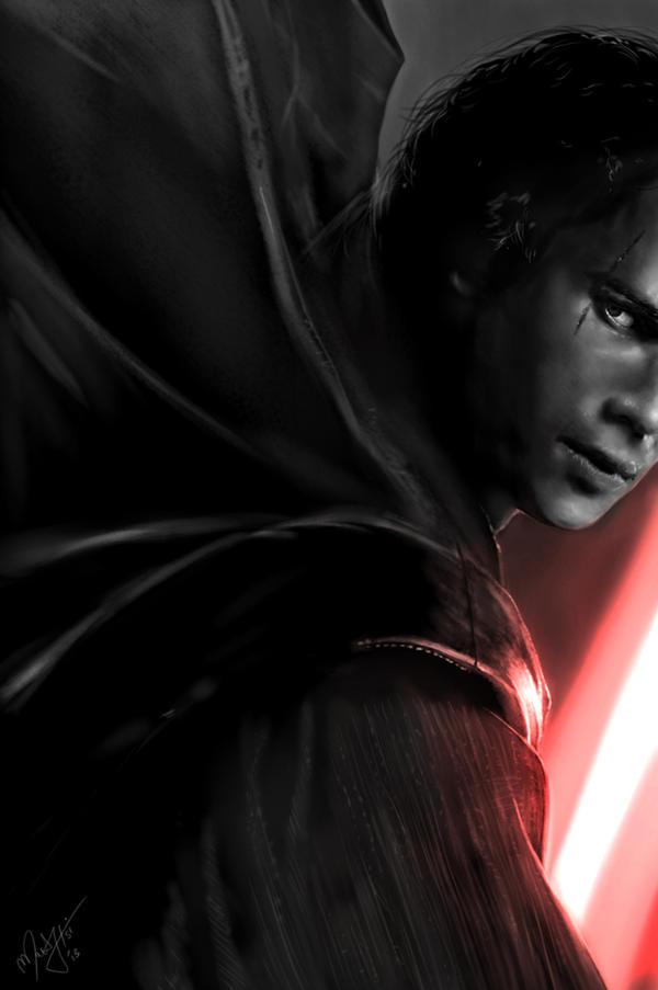 Anakin - dark side by MartyIsi