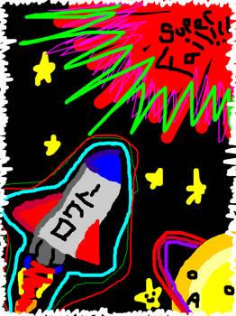 Super Fail Rocket by Ocean0breathes0salty