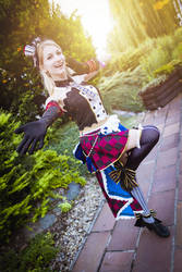 Cafe Maid Eli Ayase (Love Live) cosplay