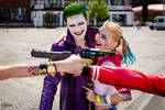 Harley Quinn and Joker (Suicide Squad) cosplay