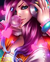 Arcade Miss Fortune by KailiStark