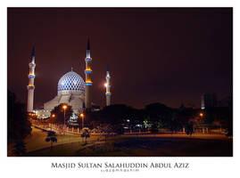 Masjid Shah Alam by an-urb