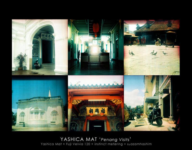 Yashica Mat : Penang Visit by an-urb