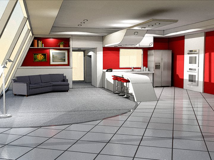 Postmodern interior design 1 by pcross on deviantart Design interior