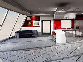 Postmodern interior design 1 by pcross on deviantart - Interior design license california ...