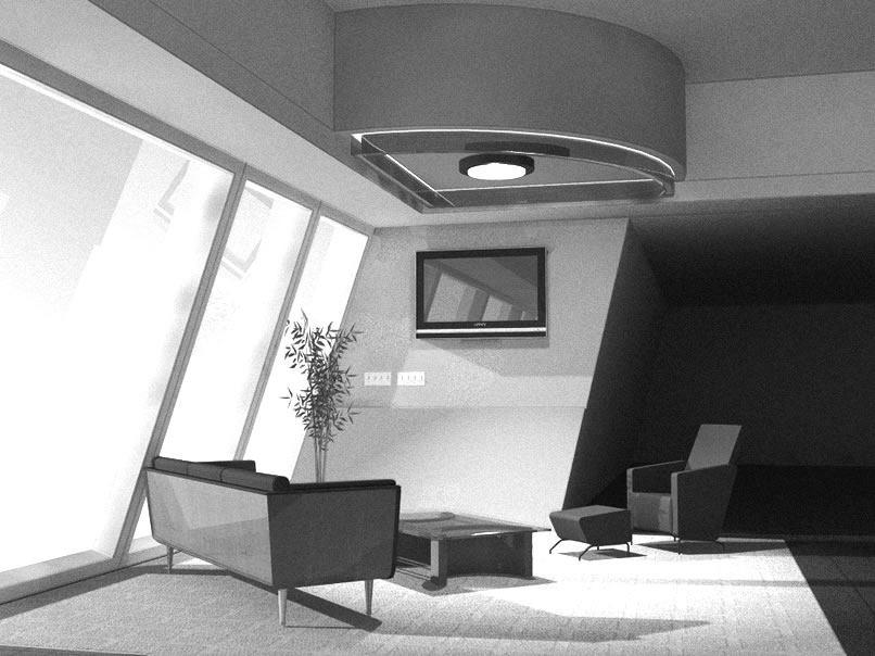 Postmodern Interior Design 3 By PCross On DeviantArt