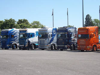 Scania Line-Up by PurestWolf