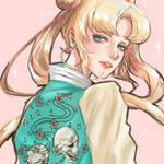 Sailor Moon / Usagi Tsukino / Sukajan