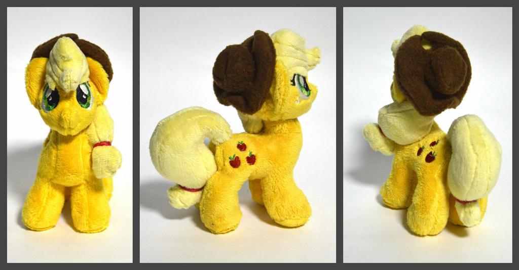 Applejack plush. by GingerAle2016