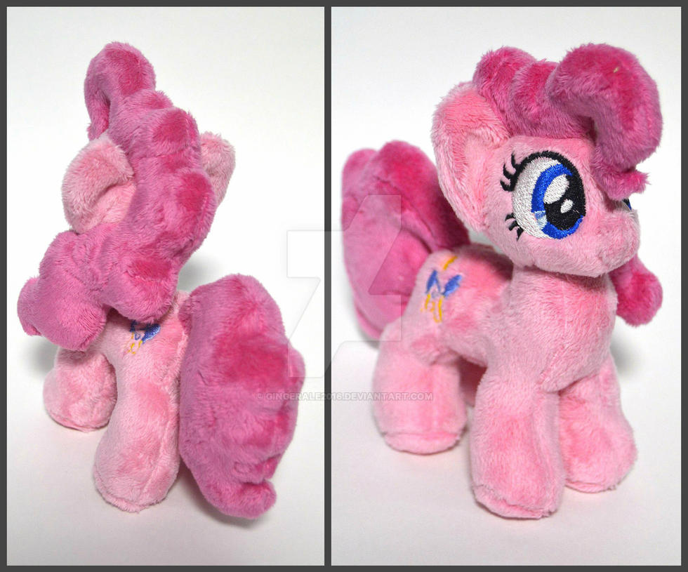 Pinkie Pie plush by GingerAle2016