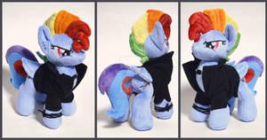 Rainbow Dash plush castom.