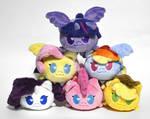 Main six pony plush