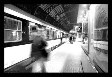 Nachtzug nach Kopenhagen II by fotoguerilla