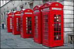 Red Telephons by fotoguerilla