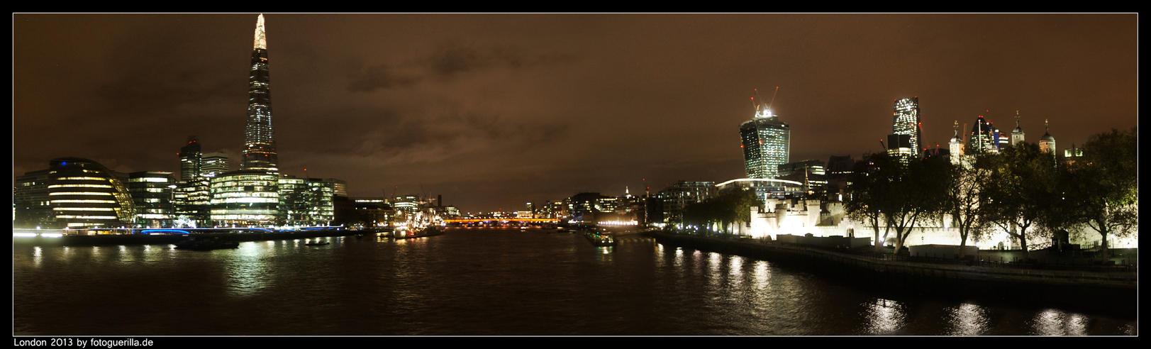 Panorma London by fotoguerilla