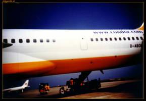 Flugzeug by fotoguerilla