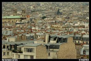 Ueber den Daechern von Paris by fotoguerilla