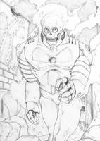 Atomic Skull by Perkillator