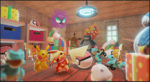 Pikachu's Toy Box