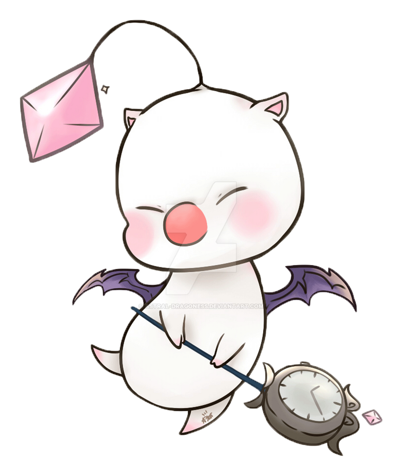 Moogle by Astral-Dragoness