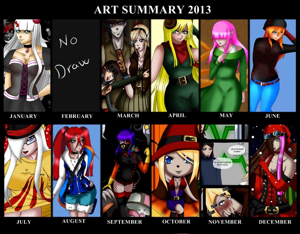Art Summary 2013 by bymika