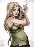 blond girl for vashley
